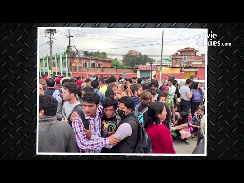 CCTV Video- Nepal Earthquake April 25th, 2015 | India Earthquake 2015 | Bihar, Delhi