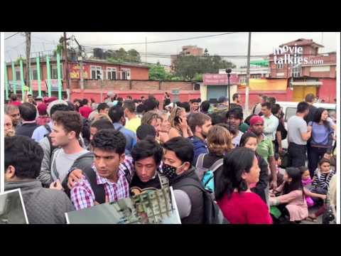 Real Nepal Earthquake Videos Cctv Video Nepal Earthquake