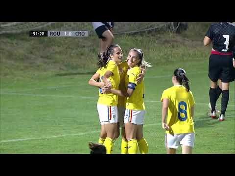 RUMUNJSKA (Ž) vs HRVATSKA (Ž) 2:0 (kvalifikacije za Svjetsko prvenstvo za žene 2023.)