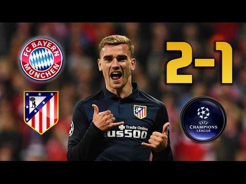 Bayern Munich vs Atletico Madrid (2-1) UEFA Champions League Semi Final 2nd Leg  (1080p HD)