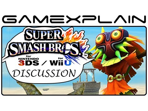 Super Smash Bros Update Discussion: Skull Kid, Find Mii Arena, & Villager's new moves (Wii U & 3DS)