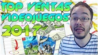 TOP VIDEOJUEGOS MÁS VENDIDOS del 2017