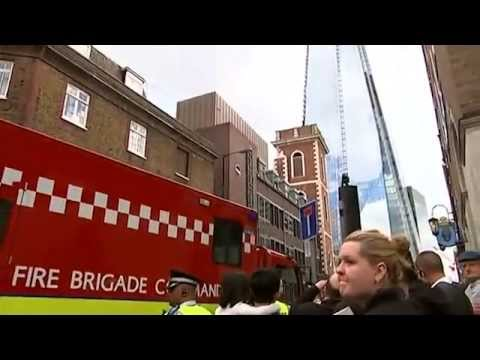 London's Shard Evacuated after Fire Alert
