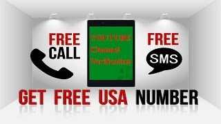 how to get a free usa mobile number for amazon affiliate verification youtube channel verification