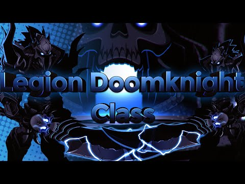 AQW - Legion Doomknight Class Guide! [Enhancements, Tips/Tricks, Soloing]