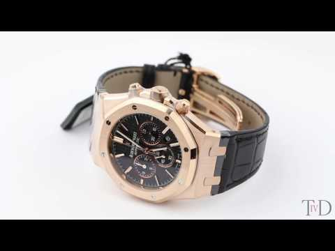 Audemars Piguet Royal Oak Chronograph Rose Gold 26320OR.OO.D002CR.01 (T4D) watch review