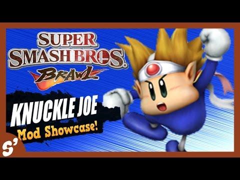 Super Smash Bros. Brawl Mod Showcase: Knuckle Joe PSA Hack!