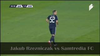 Jakub Rzezniczak vs Samtredia (Home) HD by Az Scout