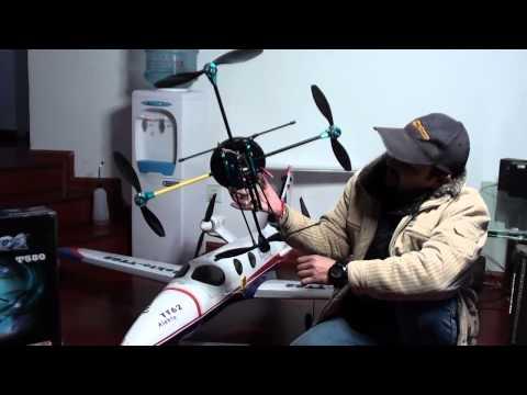 T580 Quad Copter Unboxing Review