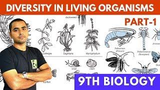 DIVERSITY IN LIVING ORGANISMS  PART -1   CLASS 9 CBSE