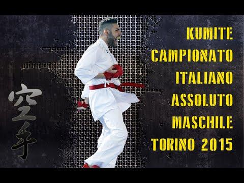 KARATE KUMITE Campionato Italiano Assoluto Maschile 2015