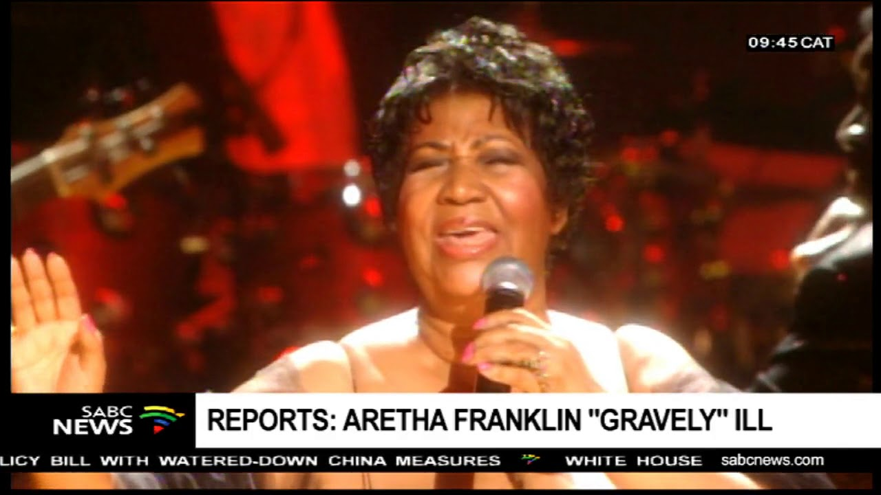 """Reports: Aretha Franklin """"Gravely ill"""""""
