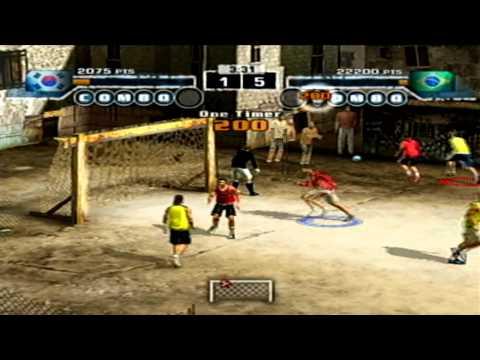 FIFA STREET - Dribles para boss