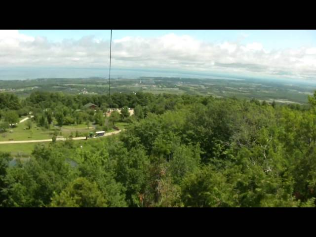 1000 Foot Escarpment Zip Line