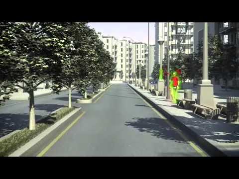 Volvo V40 – Pedestrian Detection with full auto brake