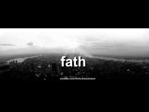 How to pronounce fath in German