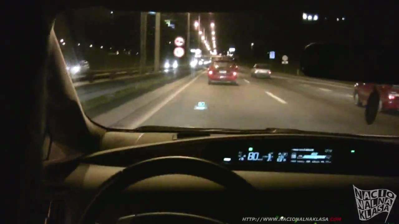 NK TEST: Toyota Prius 1.8 HUD - YouTube