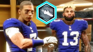 MADDEN 19 CAREER MODE - MY QB TEAMS UP WITH ODELL BECKHAM!