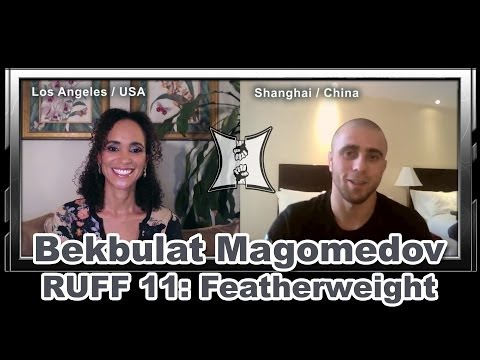 Bekbulat Magomedov on Debut Fight with RUFF Fedor  Russians in the UFC
