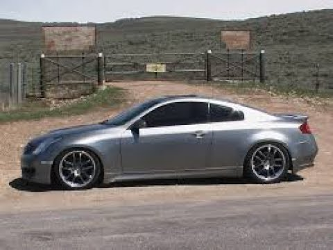 2003 Infiniti G35 coupe review - We review the G35 coupe specs, performance, interior and more