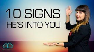 Subtle Signs He's Into You (Body Language SECRETS)