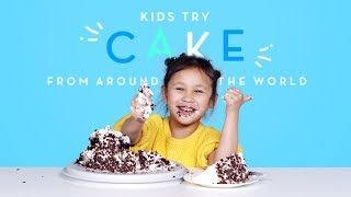 Kids Try Cake from Around the World | Kids Try | HiHo Kids