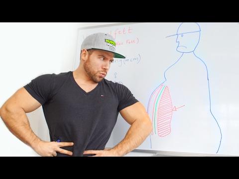 Innere Verfettung - Dieses Körperfett macht dich krank