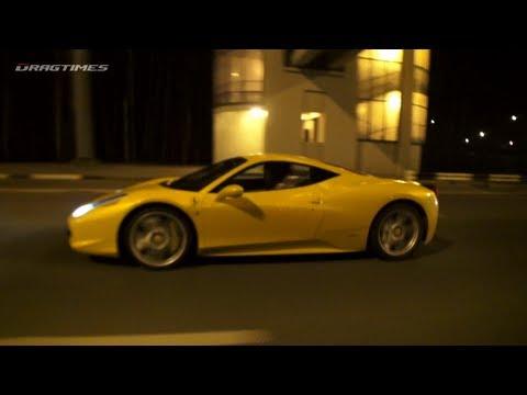 McLaren SLR vs Ferrari 458 Italia vs Nissan GT-R vs Porsche 911 Turbo