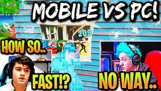 Everyone in DENIAL after 13 Year Old MOBILE Player *DESTROYS* PC Pros in FNCS! (Fortnite)