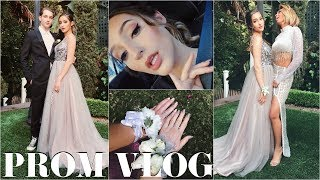PROM VLOG 2018 | Get Ready With Me & Party