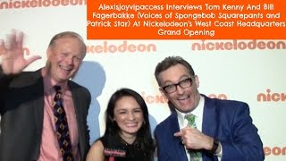 Voices Of Spongebob Squarepants And Patrick - Tom Kenny And Bill Fagerbakke Interview