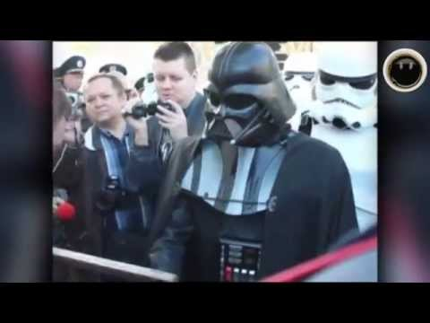 Darth VADER is running for president UKRAINE !!! :)