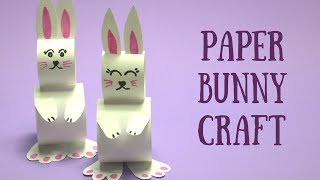 Paper Bunny Craft | Easy Easter Crafts for Kids
