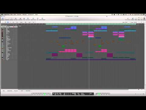 Logic Pro - EDM Electro House Project 1 [.lpp]