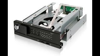 "ICY DOCK TurboSwap MB171SP-B Full Metal Tray-Less 3.5"" SATA Mobile Rack Introduction"