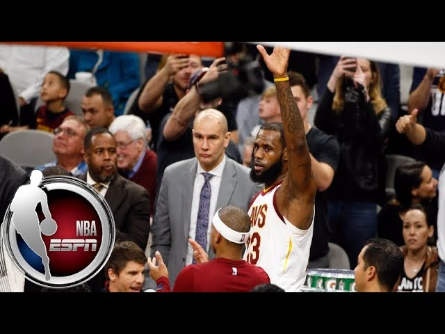 LeBron James' 30,000th career point | ESPN