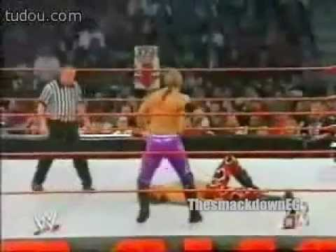WWE RAW 2003 Chris Jericho & Triple H vs Booker T & Shawn Micheals Pt.1