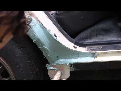How To Apply Plastic Auto Body Filler Youtube
