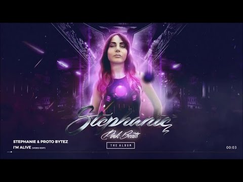 Stephanie, Proto Bytez - I'm Alive (Official Preview) - from Pink Beats -The Album-