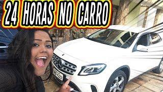 24 HORAS NO CARRO !!!