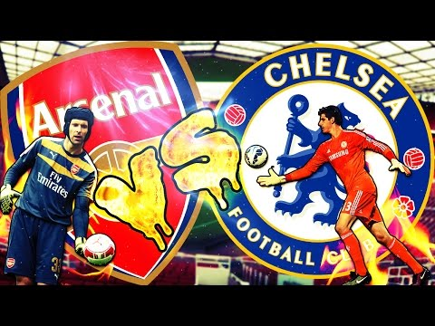 Petr Cech vs Thibaut Courtois Best Goalkeeper Saves FIFA 16