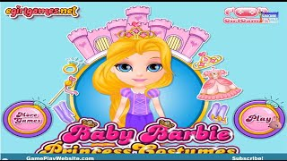 Baby Barbie Princess Costumes Video Game - Girl Games