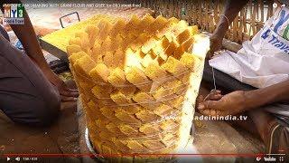 Roasted Gram Flour Sweet | #MYSOREPAK MAKING | Street Food
