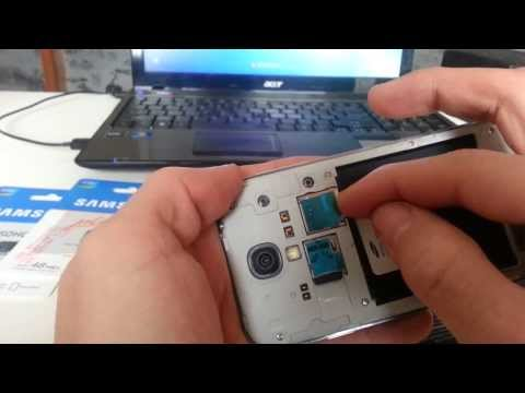 Galaxy S4: How to take the Back Plate Off & Insert / Remove Sim & SD Card