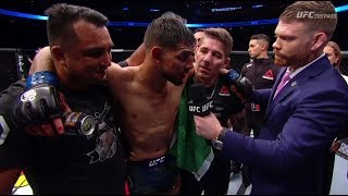 Fight Night Denver: Yair Rodriguez Octagon Interview