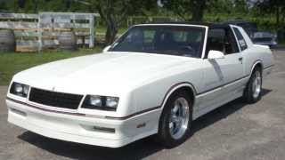 1986 Monte Carlo SS For Sale~New Paint~350~700R Trans~373 Gears/10 Bolt Rear~Beautiful