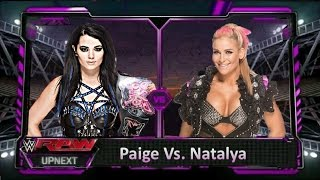 Wwe 2k15 -  Paige Vs. Natalya (Rivalty)