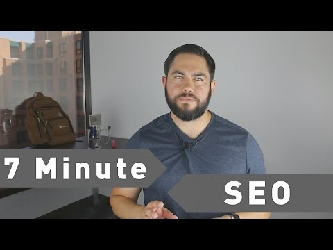7 Minute SEO for Higher Search Rankings