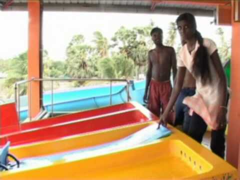 Attractive tourist place in Trincomalee (Isha Water Park)