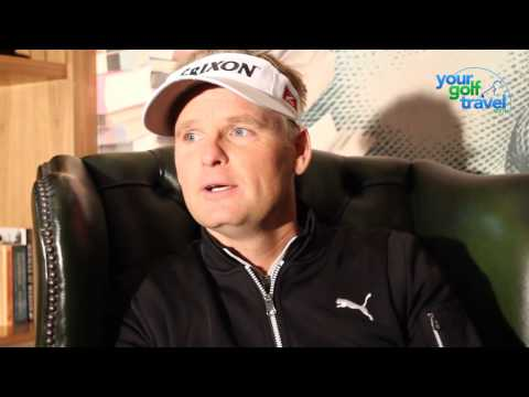 Golf travel tips with European Tour player Soren Kjeldsen